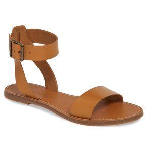 NWOB MADEWELL The Boardwalk Ankle Strap Sa…